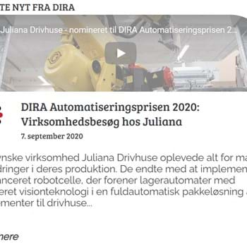 The Danish Automation Award 2020